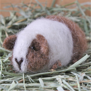 GUINEA PIG NEEDLE FELTING KIT - DORIS