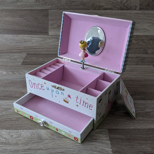 CHILDREN'S JEWELLERY BOX