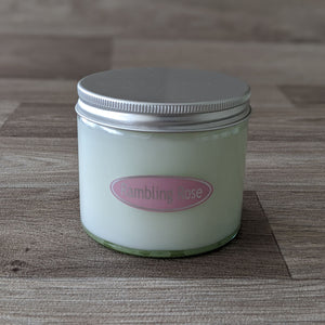 LARGE JAR CANDLE (RAMBLING ROSE)
