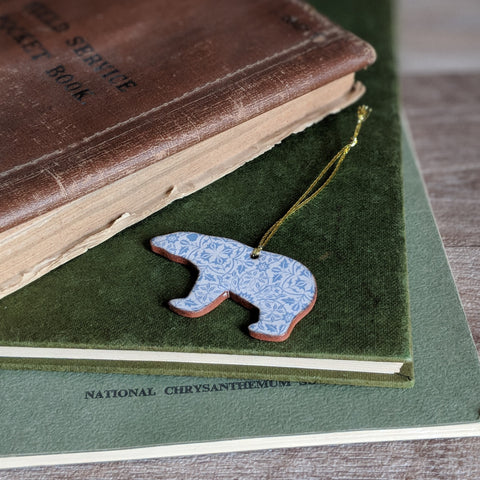 CERAMIC HANGING DECORATION (BEAR)
