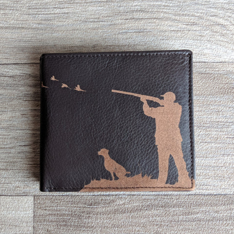 BROWN LEATHER WALLET (SHOOTING)