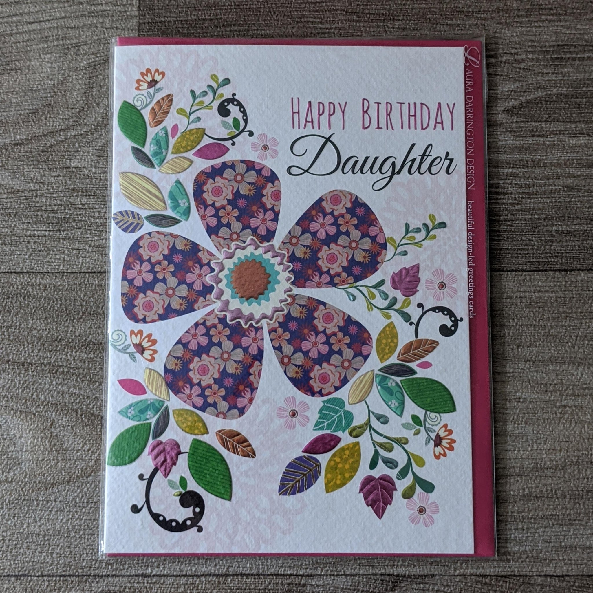 DAUGHTER BIRTHDAY CARD