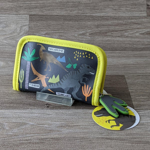 DINOSAUR ZIP WALLET