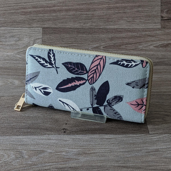 LADIES PURSE (LEAVES)