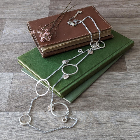 LONG RING NECKLACE