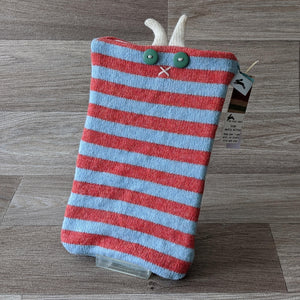 STRIPED MEDIA MITTEN