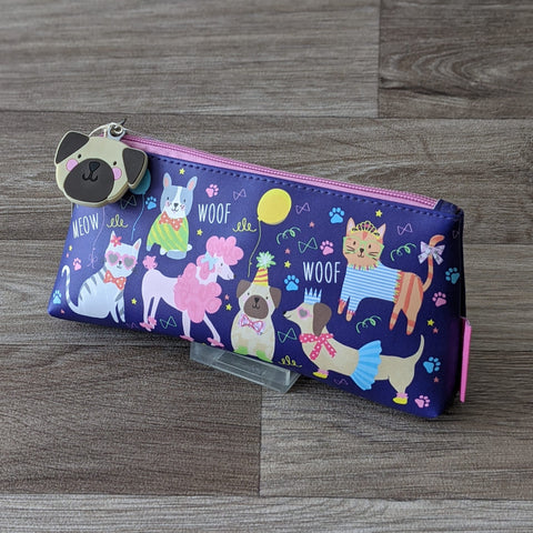 DOG & CAT PENCIL CASE