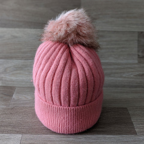 BOBBLE HAT (PINK)
