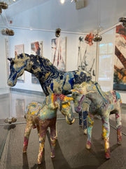Horse Sculptures by Lindsey Epstein