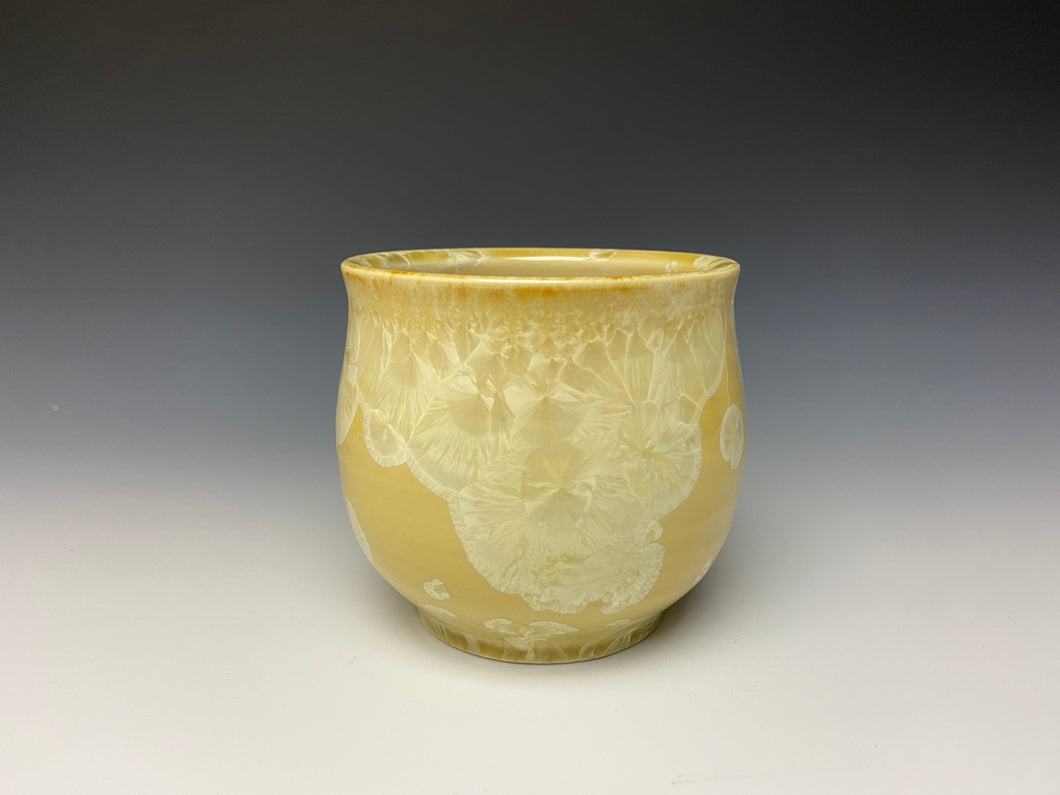 Crystalline Glazed Cup in Yellow #1