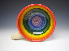 Load image into Gallery viewer, PIGGERY- Rainbow soup mug #5