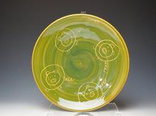 Load image into Gallery viewer, Piggery Sandwich Plate- Lime Green