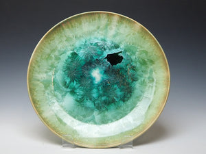 Green Crystalline Plate