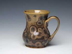 Tiger Eye Crystalline Glazed Mug #20