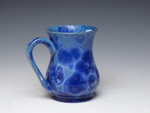 Royal Blue Crystalline Glazed Mug #14