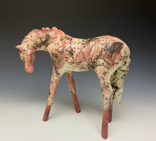 Load image into Gallery viewer, Horsehair Raku Horse 804