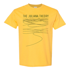 Yellow Sand Dunes Lines T-Shirt