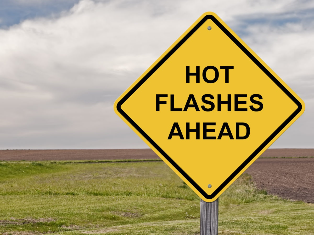 hot flashes ahead board