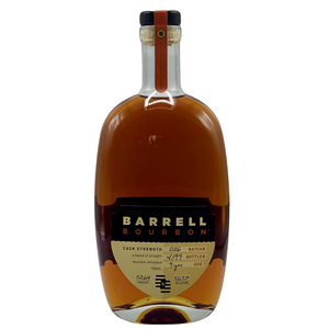 Barrell Bourbon 9 Year Old Cask Strength Batch #26 Straight Bourbon Whiskey 126.4 Proof