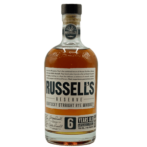 Russell's Reserve Rye Whiskey 6 Year - wino(t) brooklyn