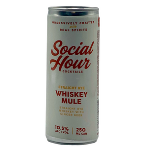 Social Hour Cocktails Whiskey Mule 250ML