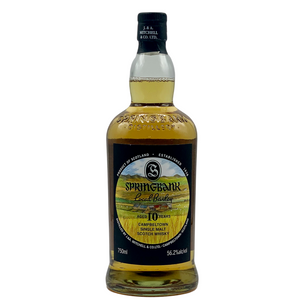 Springbank 10 Year Old Local Barley Campbeltown Single Malt Scotch Whiskey