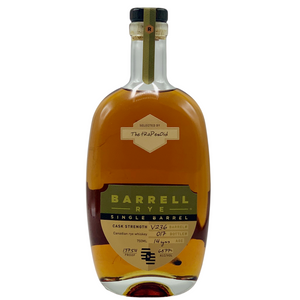 "Barrell Canadian Rye ""The tRaPezOid"""