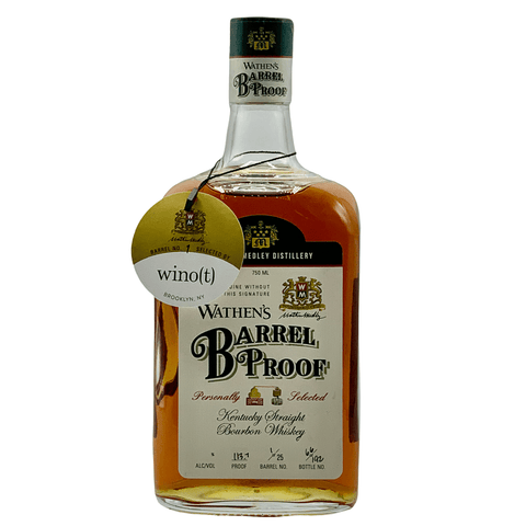 Wathens Barrel Strength 113.7 wino(t) Barrell - wino(t) brooklyn