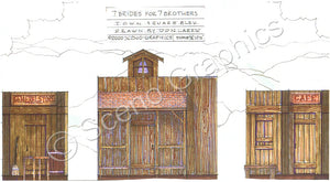 Seven Brides for Seven Brothers Design Pak©
