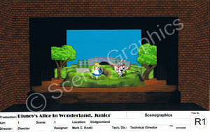 Alice in Wonderland, Junior Design Pak©