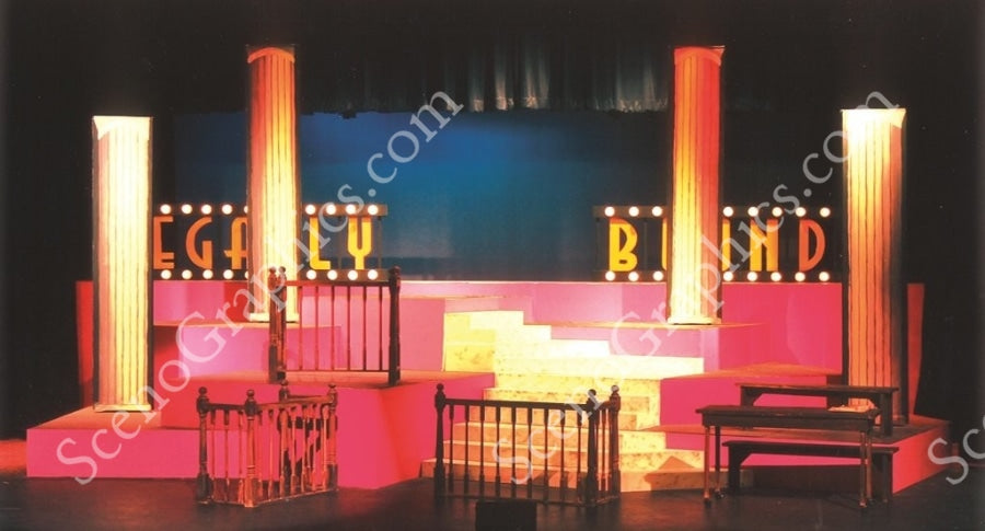 Legally Blonde Set Design from Scenographics, 2013 Photo Competition Winner