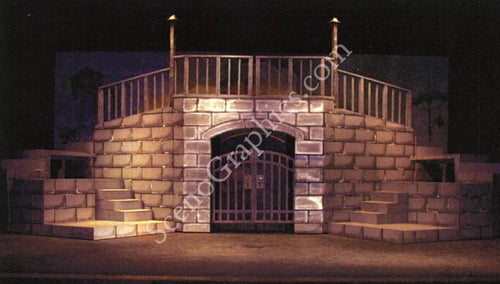 Les Miserables Set Design from ScenoGraphics; 2009 Photo Contest Winner; ScenoGraphics sells Design Paks© for over 150+ shows that include how-tos and blueprints helping your troupe have the perfect set. Find out more at Scenographics.com!