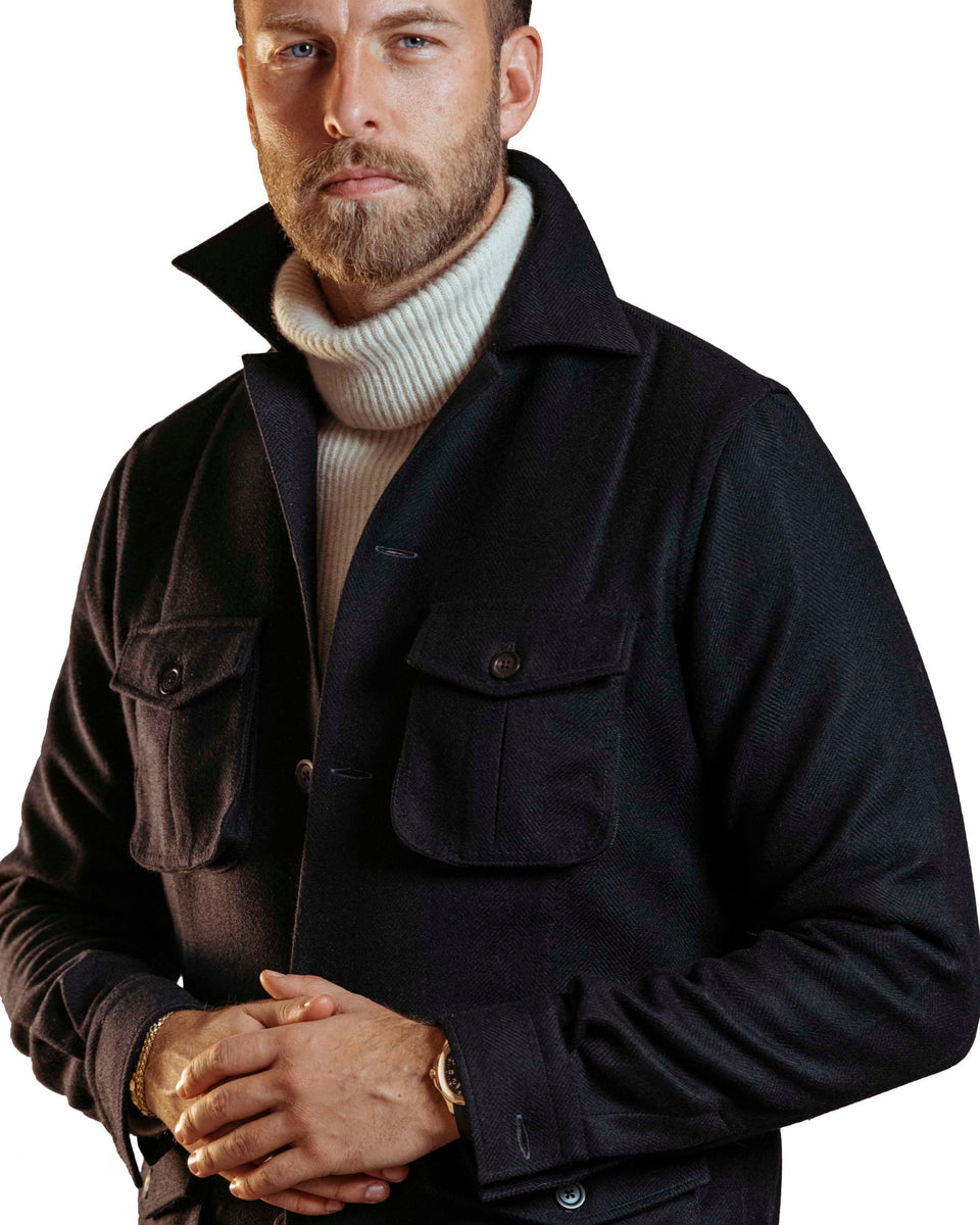 Andreas Weinas Loro Piana Jacket -Navy