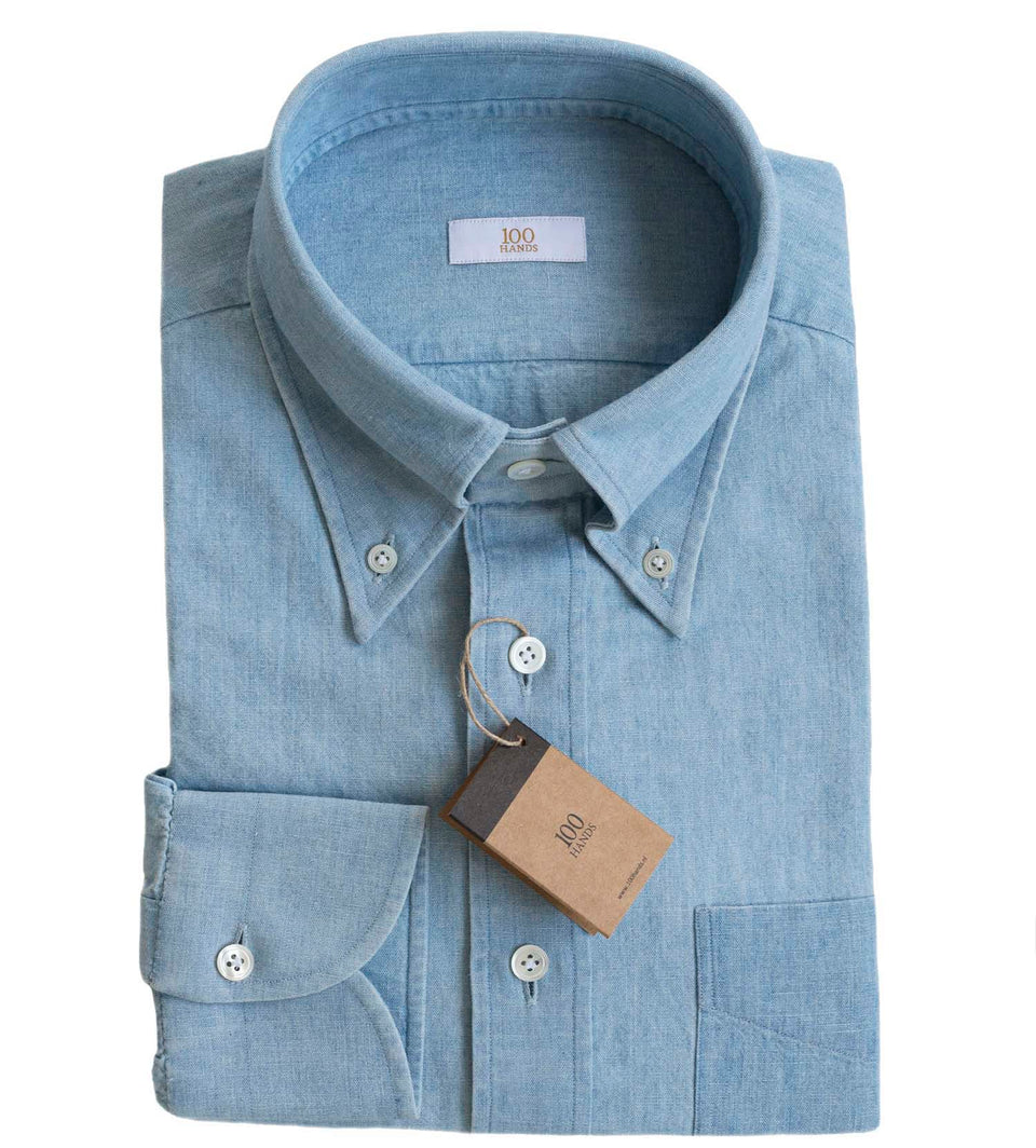 Ice Washed Japanese Chambray