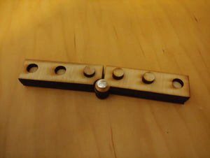 Wooden Braille Swing Cell