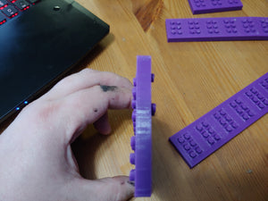 Braille Push Cells