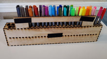 Load image into Gallery viewer, Assembled Lasercut Pen Vertical Pen Holder