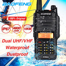 Load image into Gallery viewer, 2020 10W Baofeng UV-9R plus Waterproof Walkie Talkie UV 9R Plus Dual Band Portable CB Ham Radio 10KM hf transceiver Transmitter
