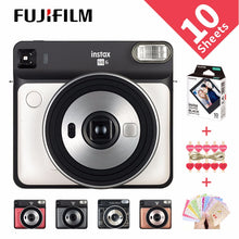 Load image into Gallery viewer, 5 Colors Fujifilm Instax SQUARE SQ6 Instant Film Photo Camera  Blush Gold  Graphite Gray Pearl White Ruby red