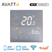 Load image into Gallery viewer, AVATTO Tuya WiFi Smart Thermostat Temperature Controller for Water/Electric floor Heating/Gas Boiler Work with Alexa Google Home