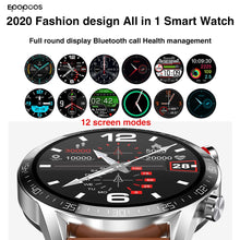 Load image into Gallery viewer, all in 1 Smart watch 2020 smartwatch 1.3 inch full screen heart rate blood pressure IP68 bluetooth call for men Android IOS