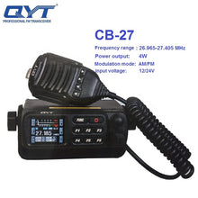 Load image into Gallery viewer, QYT CB-27 Walkie Talkie 26.965-27.405MHz FM AM Mode Citizen Band Radio CB 27 4W shortware Car Radio ALL European MULTI-NORMS