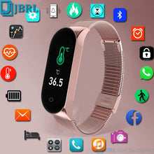 Load image into Gallery viewer, Temperature Smart Watch Men Women Smartwatch Electronics Smart Clock For Android IOS Fitness Tracker New Bluetooth Smart-watch