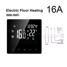 Load image into Gallery viewer, AVATTO Tuya WiFi Smart Thermostat, Electric floor Heating Water/Gas Boiler Temperature Remote Controller for Google Home, Alexa