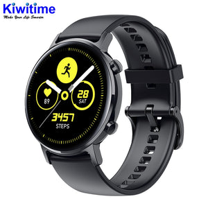 KIWITIME SG3 Full Touch Amoled 390*390 HD Screen ECG Smart Watch Wireless Charging IP68 Waterproof Heart Rate BT 5.1 Smartwatch