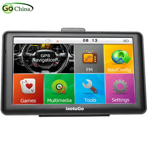 7 inch Capacitive Car GPS Truck Navigator 256M 8G Bluetooth AVIN FM HD 800*480 Free Updated  Newest Maps