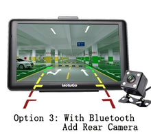 Load image into Gallery viewer, 7 inch Capacitive Car GPS Truck Navigator 256M 8G Bluetooth AVIN FM HD 800*480 Free Updated  Newest Maps