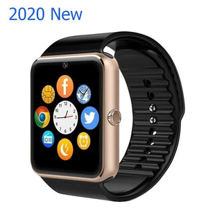 Smart Watch 2020 New GT08 Plus Support TF SIM Card Anti lost SmartWatch Bluetooth Touch Screen Sport Wrist Watch For IOS Android
