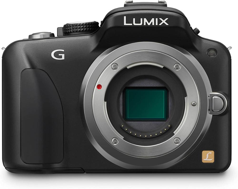 Used,Panasonic LUMIX DMC-G3 16 MP Micro Four-Thirds Interchangeable Lens Camera with 3-Inch Touch Screen LCD (Body Only)