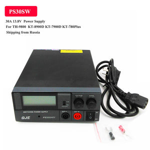 High Efficiency Power Supply Radio Transceiver PS30SW 30A 13.8V TH-9800 KT-8900D KT-780Plus KT8900 KT-7900D Car Radio
